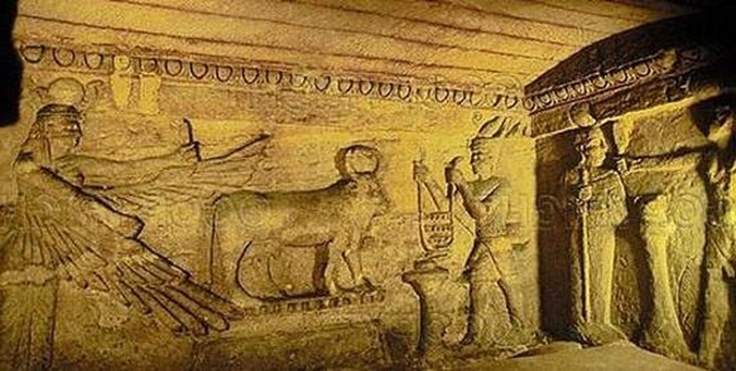 Catacumbas subterrâneas de Alexandria 03