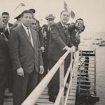 Fernando Belaunde visita Chorrillos - 1965