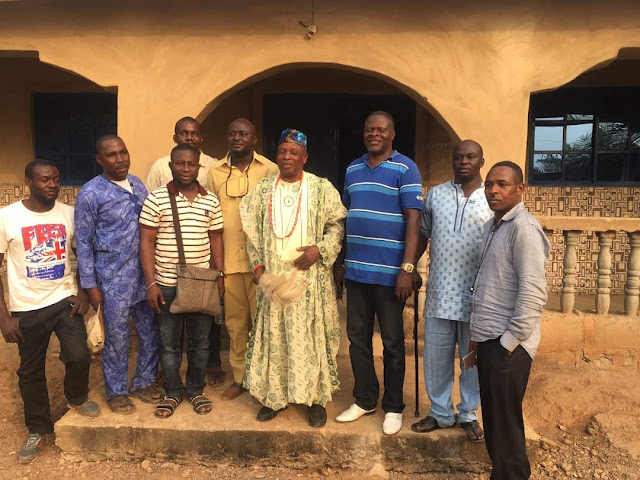 CONTRACTORS ARRIVES OKEDAYO, OKEBUKUN-AYANGA AND OGALE COMMUNITY ALL IN KABBA-BUNU-IJUMU FEDERAL CONSTITUENCY.
