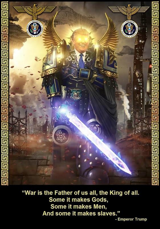 trump emperor