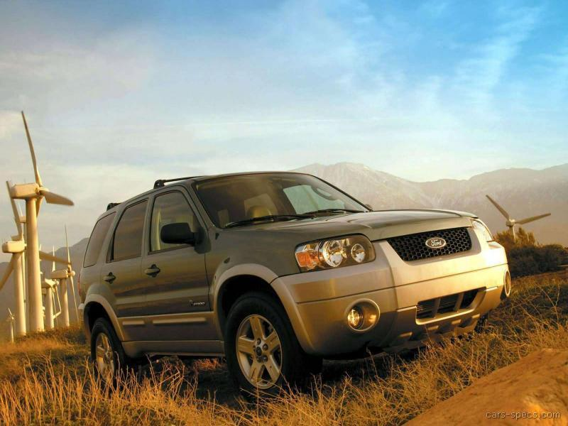 2007 ford escape hybrid suv specifications pictures prices. Black Bedroom Furniture Sets. Home Design Ideas