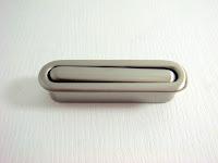 裝潢五金 品名:Z331-長型暗把手 孔距:10*42m/m 規格:13*52m/m 顏色:BSN 玖品五金