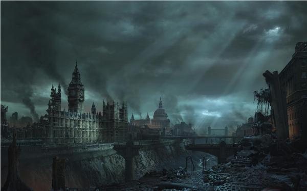 Horror Landscape From Dream 1, Magical Landscapes 3