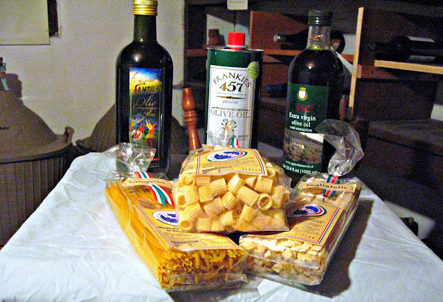 Let Us Feed You Italian Extra Virgin Olive Oil and Pastificio Vicidomini Pasta Giveaway