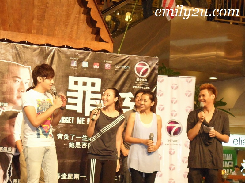 Cast of 'Forget Me Not' (ntv7) Meet & Greet Fans in Ipoh