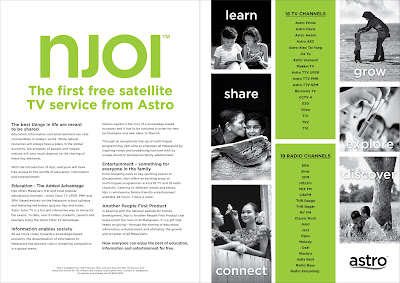 NJOI Free Satellite TV Service by ASTRO