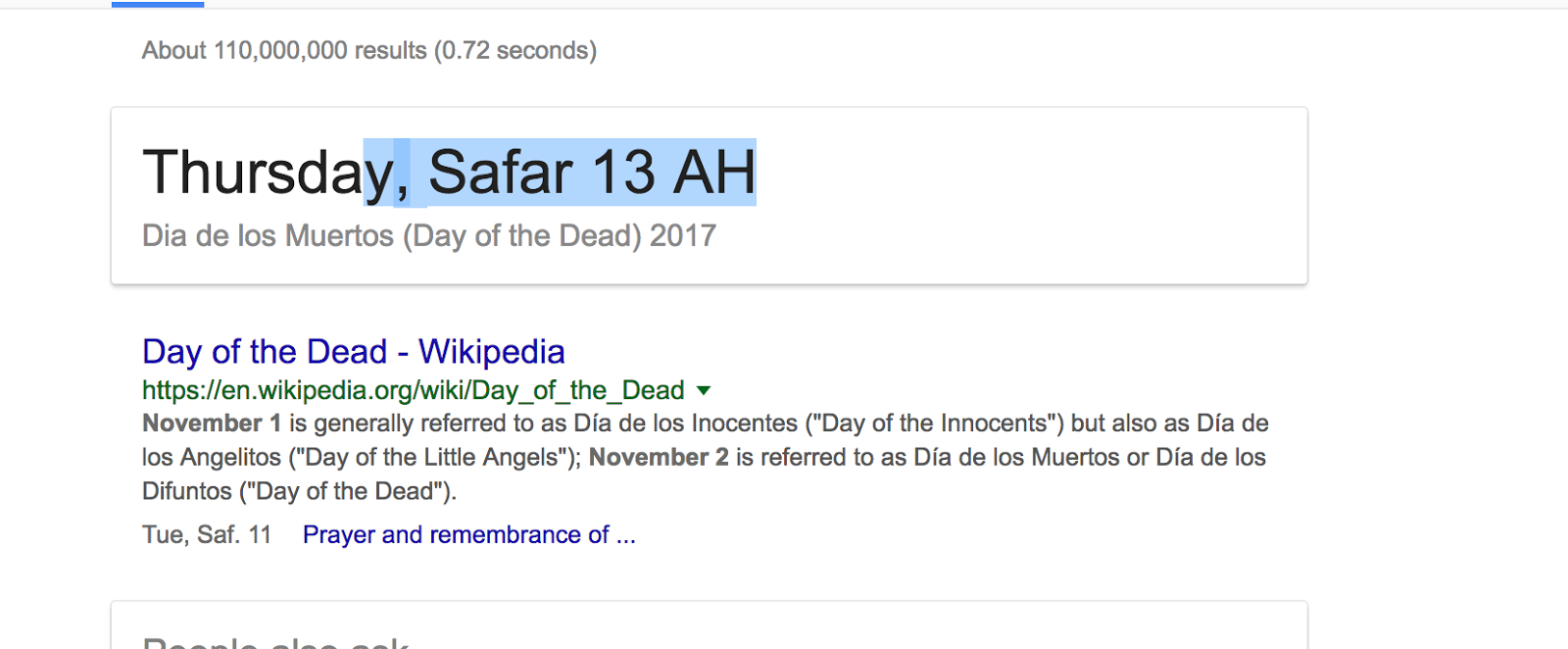 Google giving me wrong date - Google Search Help