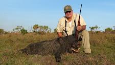 Mr Kocher USA with a fine wild boar
