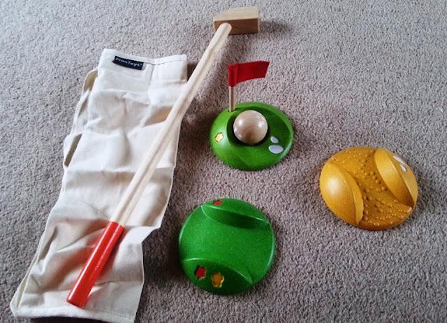 Đồ chơi Golf Mini PlanToys Single Set PL5682 đẹp mắt