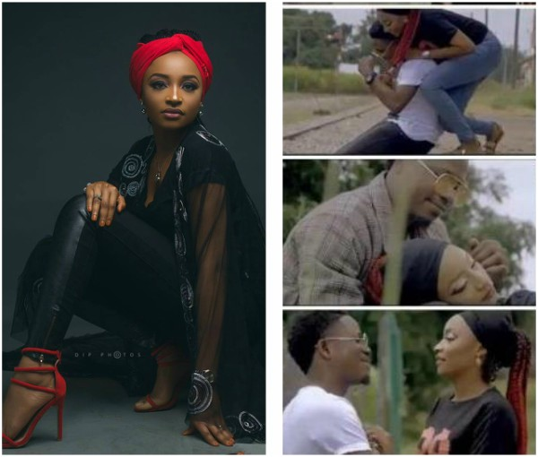 Rahama Sadau apologizes to Kannywood for featuring in romantic music video; seeks recall to the movie industry