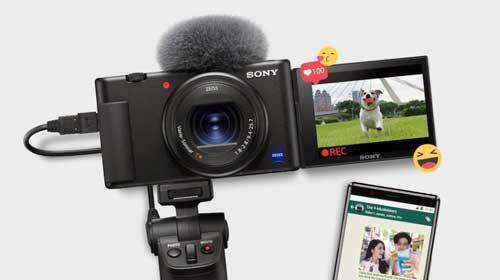 kamera sony zv-1 untuk youtube anak