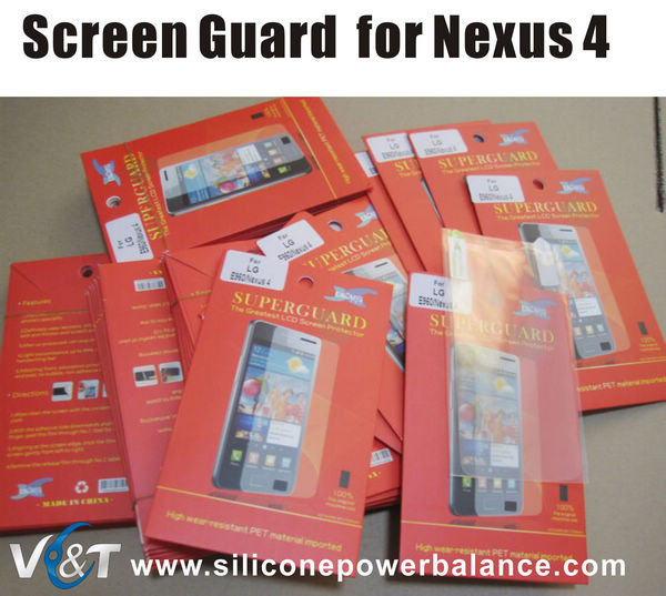 screen guard protector for lg e960 nexus 4