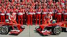 The Scuderia Ferrari F1 Team