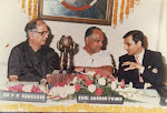 with Sharad Pawar receving the Birla Award early 1990.jpg