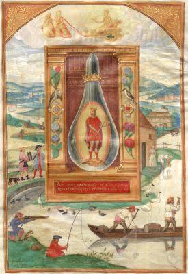 Splendor Solis Manuscript Of 1545 In Nurnberg, Emblems Related To Alchemy