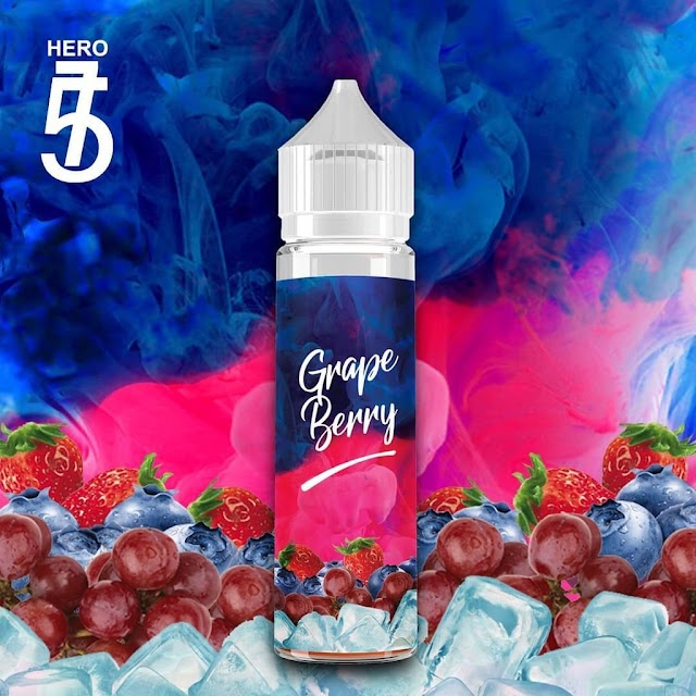 Grape Berry Rajanya liquid dingin