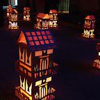 Faroles con forma de casas