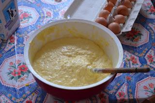 Spaetzel à l'alsacienne la pâte