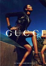 Photo: Joan Smalls para Gucci