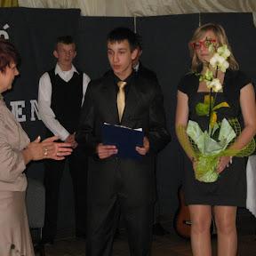 Pożegnanie klas trzecich 2010