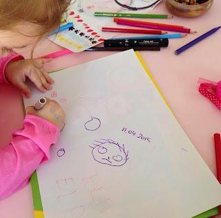 resim çizmeyi öğretmek