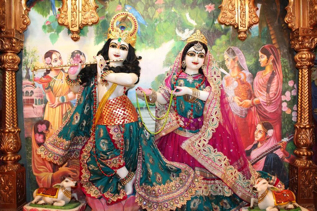 ISKCON Vallabh Vidhyanagar Sringar Deity Darshan 05 Mar 2016 (8)