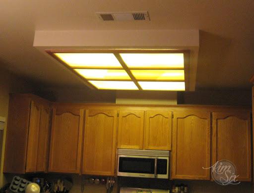 removing a fluorescent kitchen light box the kim six fix rh thekimsixfix com fluorescent kitchen lights ceiling fluorescent kitchen lights uk