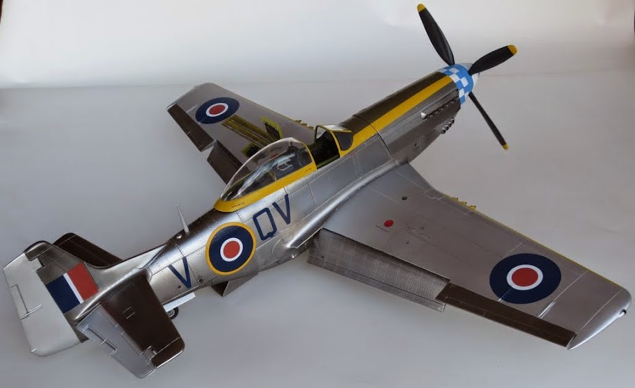 Airfix 1/24 Mustang rescued from the shelf of doom - Ready ...