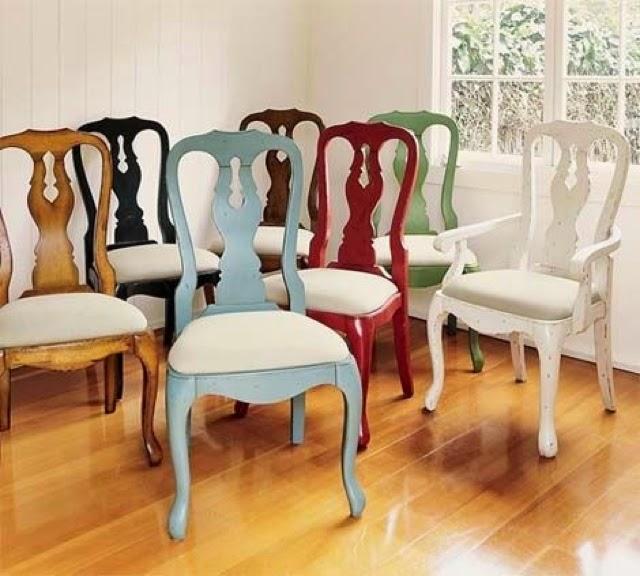 Recicl mi silla de que estilo es la c moda encantada - Mesas pintadas a la tiza ...