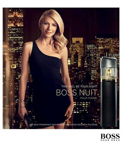 "Hugo Boss ""Nuit"" Fragrance : Gwyneth Paltrow"