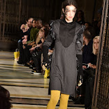 OIC - ENTSIMAGES.COM - Model on the Catwalk at the  LFW a/w 2016: Ashley Isham - catwalk show in London 20th february 2016 Photo Mobis Photos/OIC 0203 174 1069