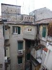 Výhľad z okna nášho hostelu 2