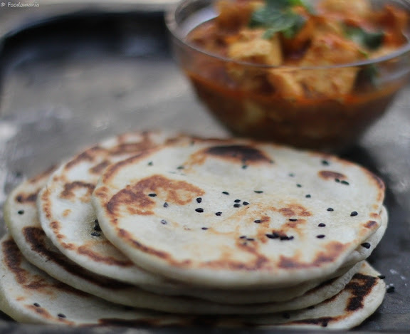 Butter Kulcha Recipe | How to make Kulcha at home | Step by step recipe | Foodomania.com