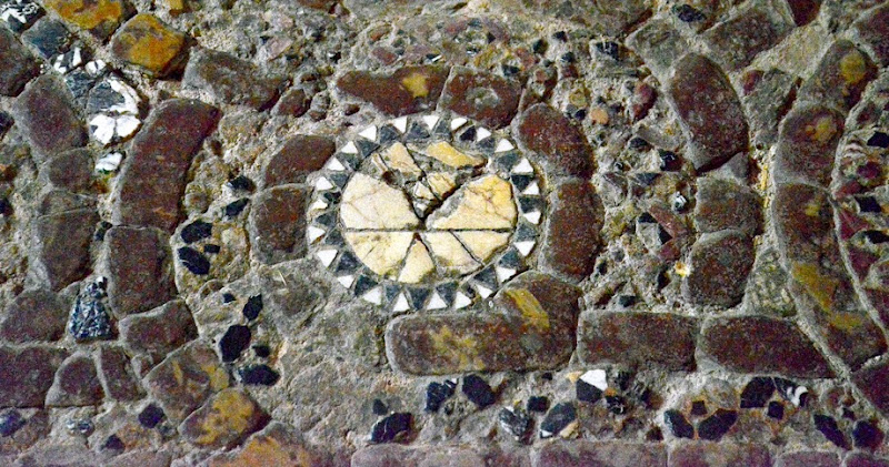 6. Floor mosaic. The Monastery of the Most Holy Theotokos Eleusa. XI Century