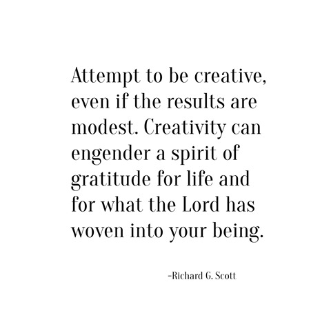 creativity -- richard g. scott