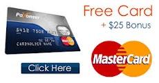 Payoneer mastercard earn