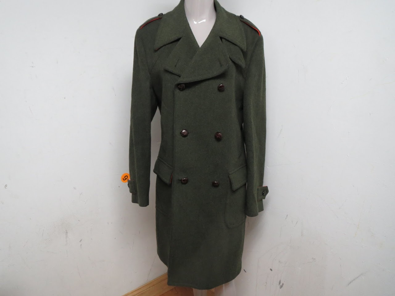 Dolce & Gabbana Green Trench