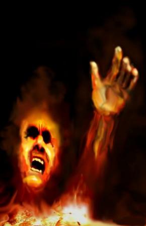 souls in hell fire