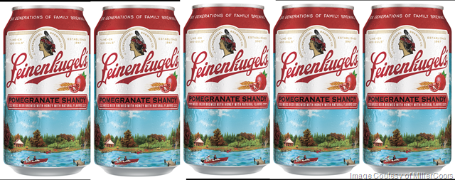 MillerCoors: Leinenkugel's Hope To Continue Momentum With Pomegranate Shandy