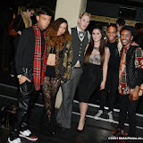 WWW.ENTSIMAGES.COM -  Lewis-Duncan Weedon and Brick City (Vocal Band)  at       London Collections Men  Hosted by Funkybuddha and Fashions Finest Berkeley Street London Jan 6th 2014                                                Photo Mobis Photos/OIC 0203 174 1069