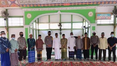 Polres Sekadau Gelar Safari Jumat di Masjid At Taqwa Rawak Hulu