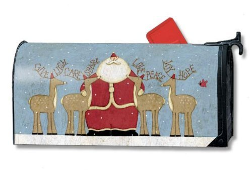 MailWraps Nature of Christmas Magnetic Mailbox Cover
