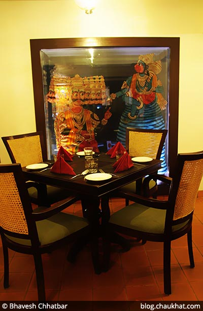 Family seating arrangement at Savya Rasa [Koregaon Park, Pune]