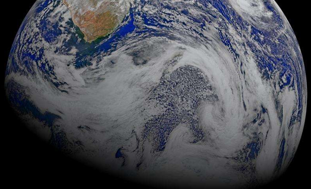 Many clouds surround the Southern Ocean. Lawrence Livermore scientists have found that climate models don't accurately portray clouds and in turn underestimate global warming. Photo: NASA