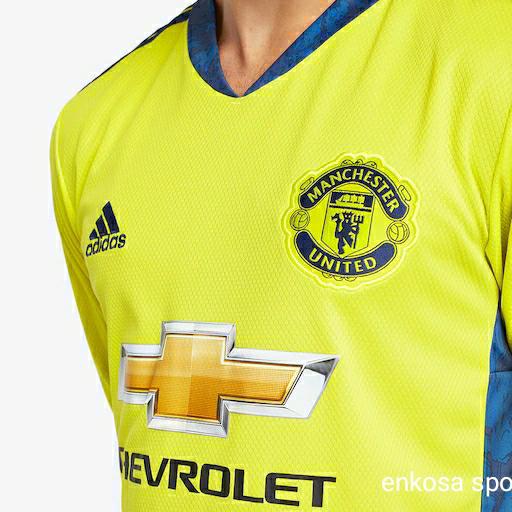 Jual Jersey Kiper Manchester United Away Musim 2020-2021