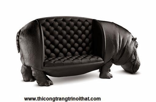 """Chiếc ghế hà mã """"độc nhất vô nhị"""" của nhà thiết kế Maximo Riera-1"""