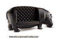 """Chiếc ghế hà mã """"độc nhất vô nhị"""" của nhà thiết kế Maximo Riera"""