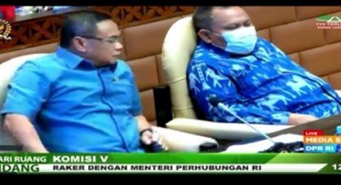 Di Depan Anak Buah AHY, Anggota DPR Beri Selamat ke Jhoni Allen saat Rapat