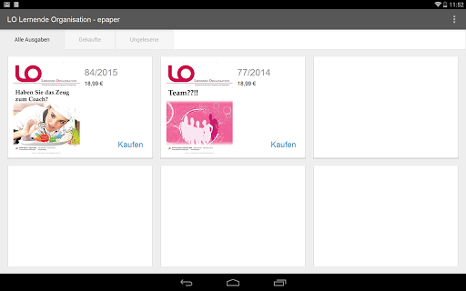 玩免費新聞APP|下載Lernende Organisation - epaper app不用錢|硬是要APP