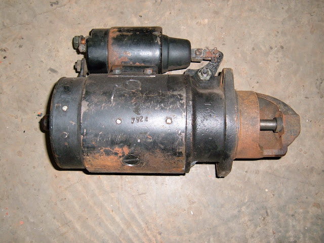 This is a used 53-56 264-322 starter, we have used and rebuilt. Call